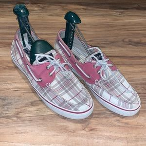 Women's Sperry Boat Shoes Slip On Size 10